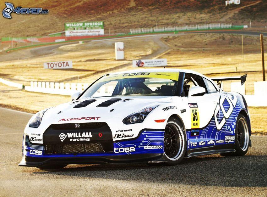 Nissan GTR, racing car