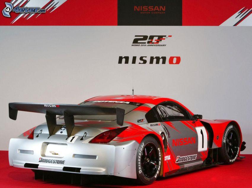 Nissan Nismo, racing car, exhibition