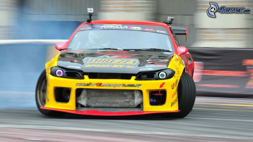 Nissan Silvia, drifting