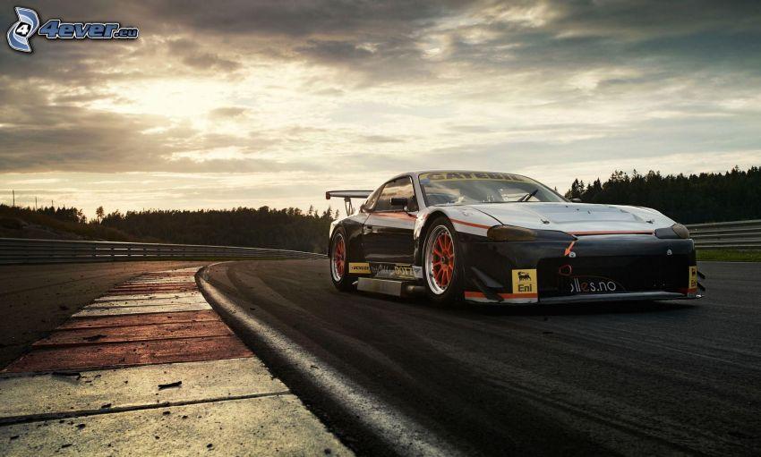 Nissan Silvia, racing car, racing circuit