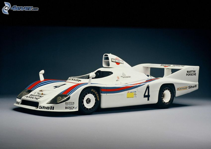 Porsche, racing car