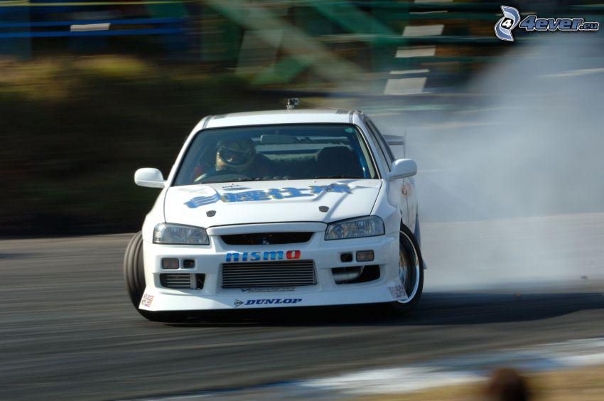 race, drifting