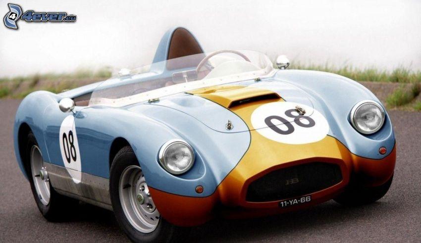 racing car, oldtimer