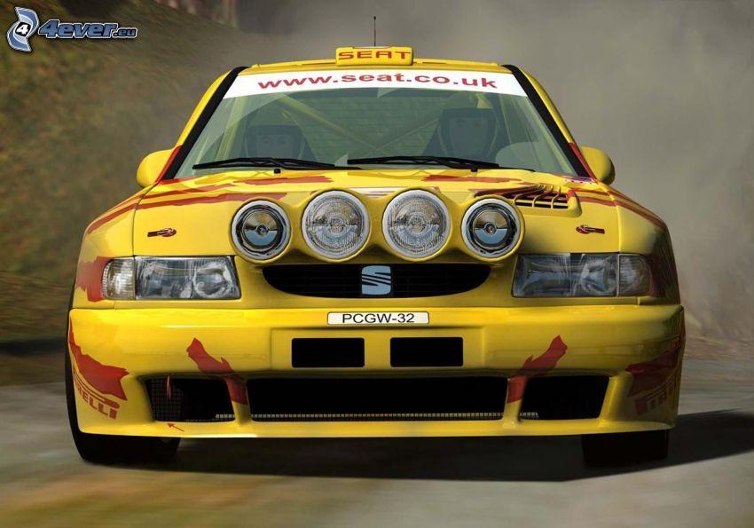 Seat, racing car