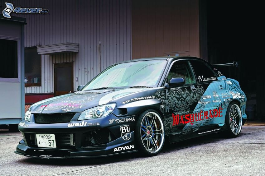 Subaru, racing car