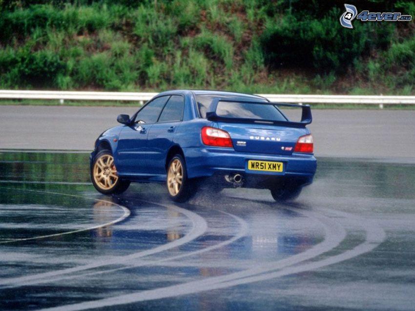 Subaru Impreza, drifting