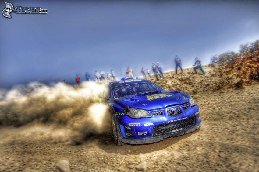 Subaru Impreza WRX, drifting