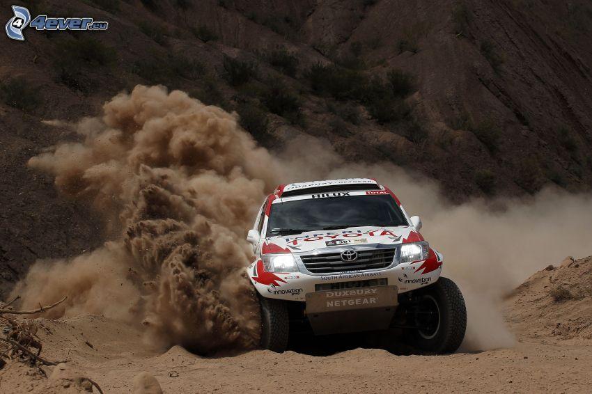 Toyota Hilux, drifting
