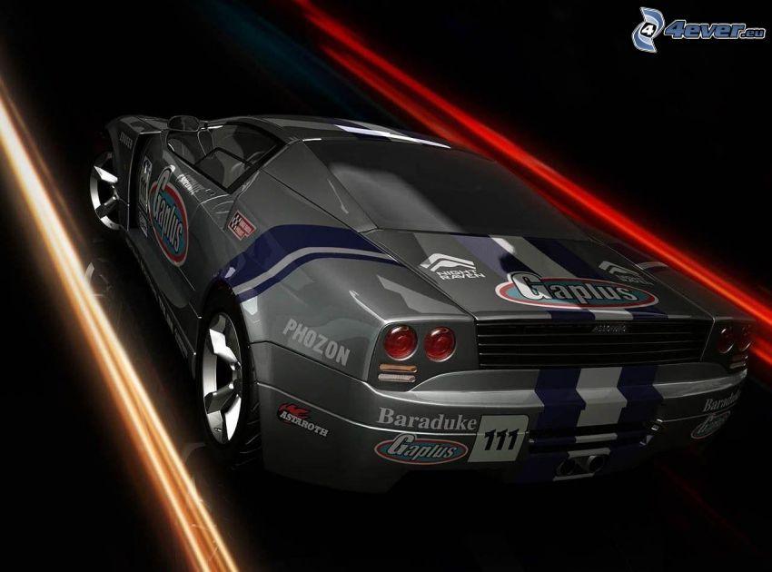 Ridge Racer 7 CG, racing car