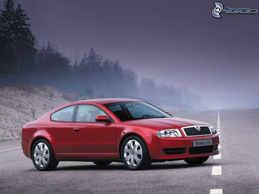 Škoda Tudor, straight way