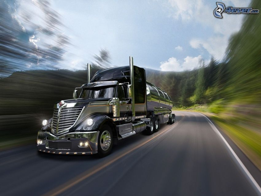 Lone Star Harley-Davidson, truck, speed