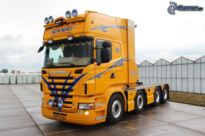 Scania, road tractor
