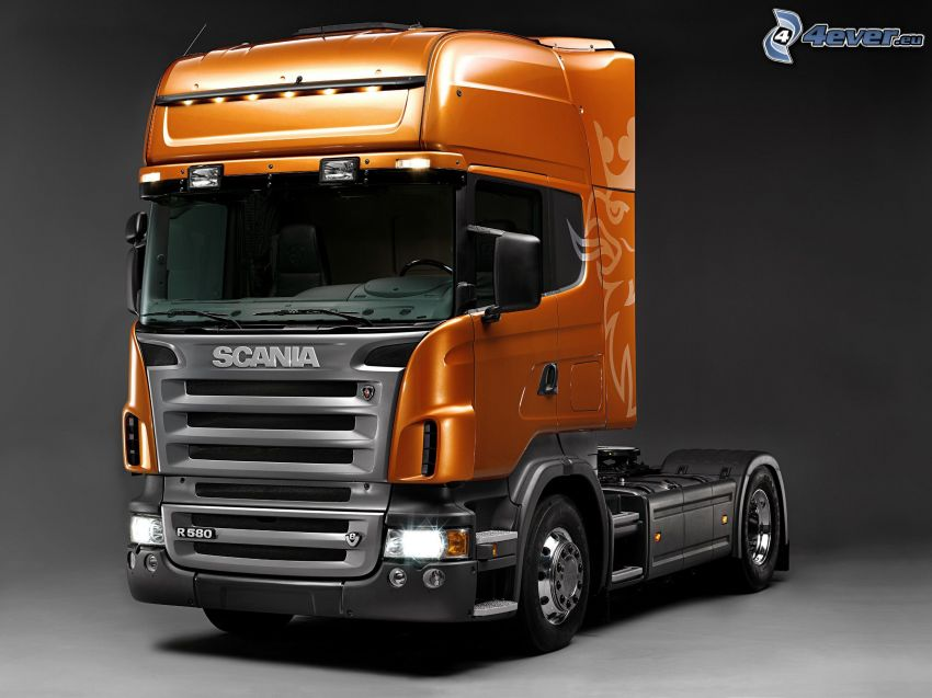 Scania R580, truck