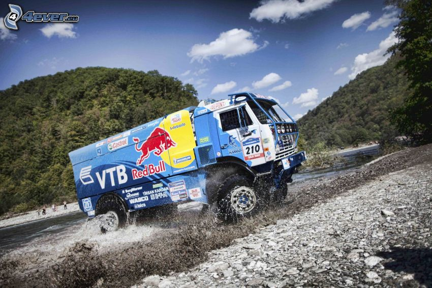 Tatra, Red Bull, water