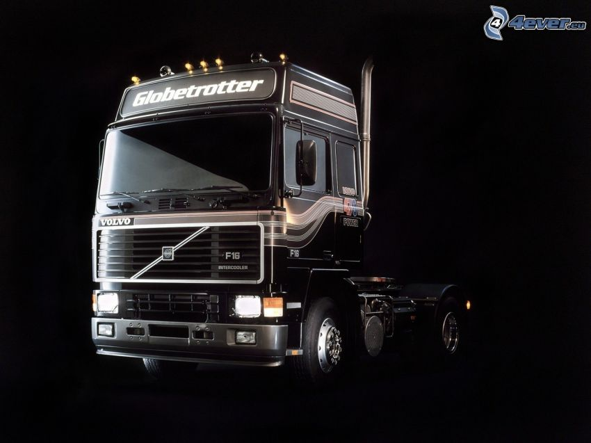 Volvo, road tractor