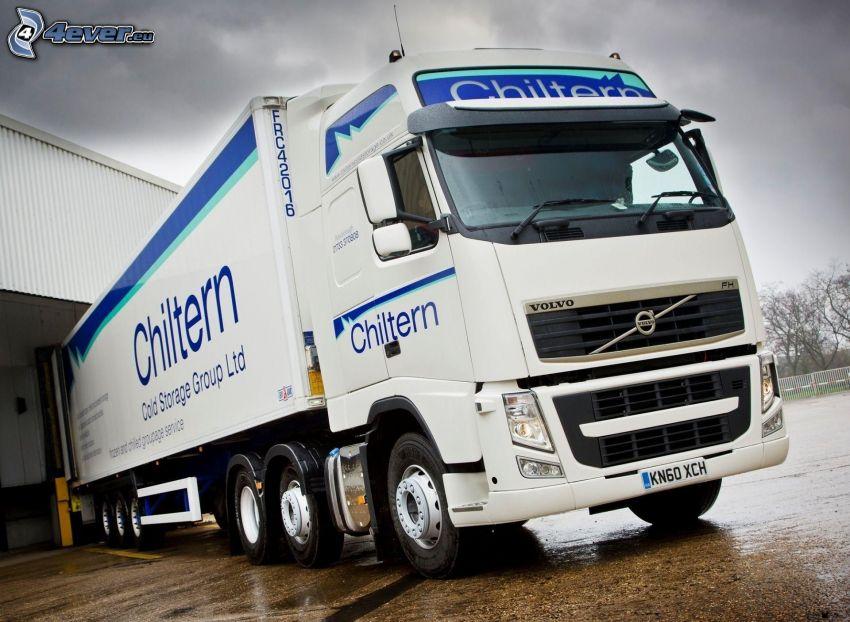 Volvo, truck