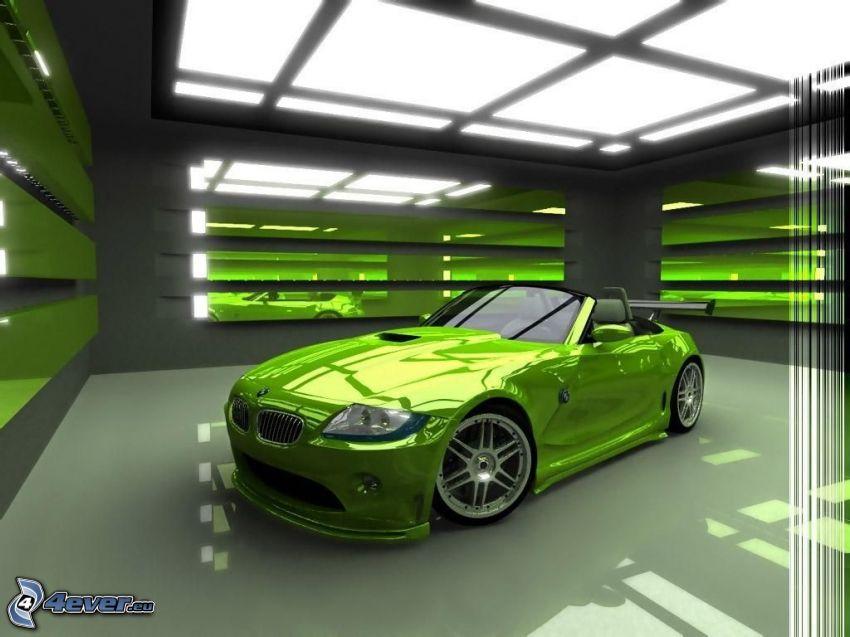 BMW Z8, virtual tuning