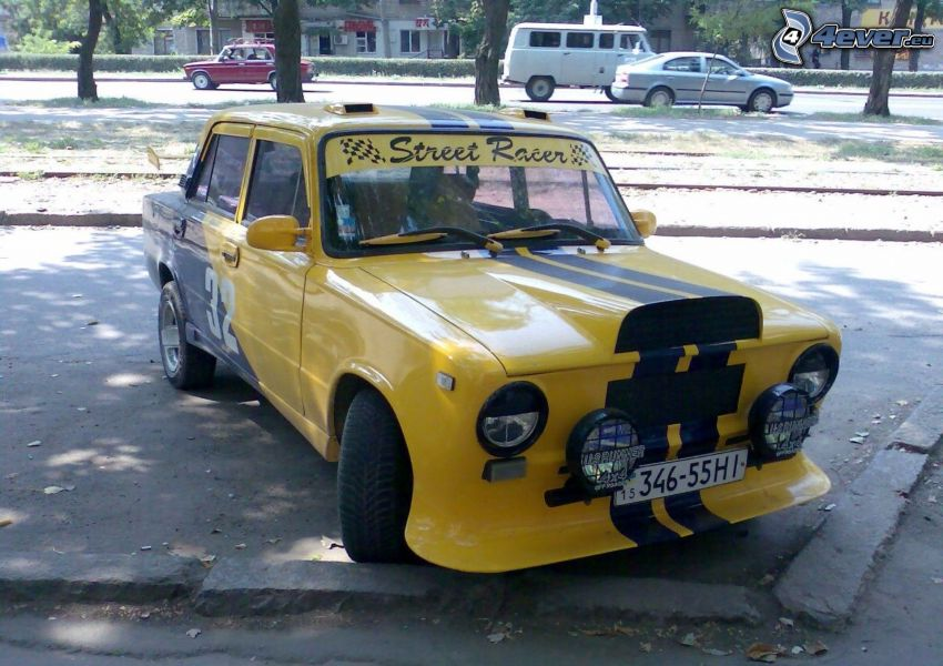 Lada, tuning, racing car