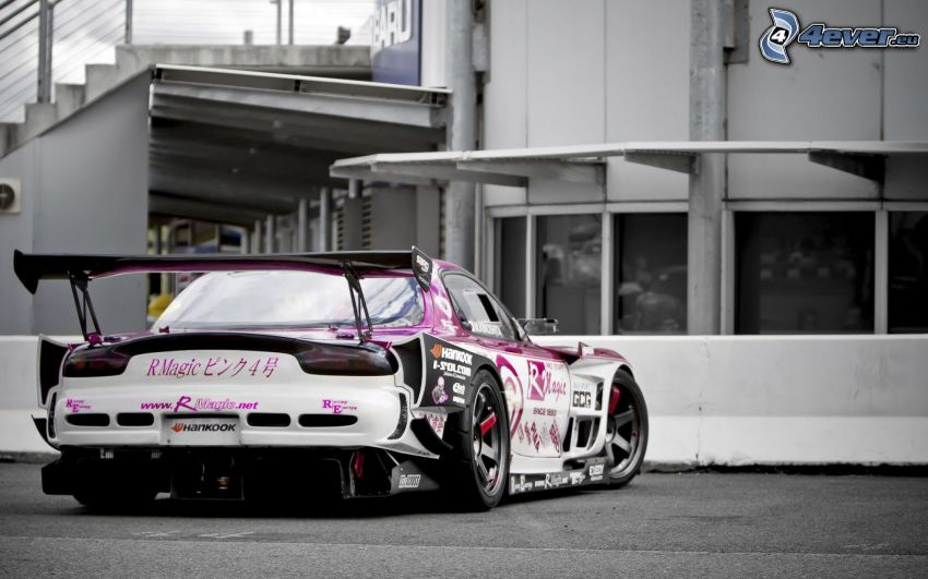 Mazda RX7, racing car