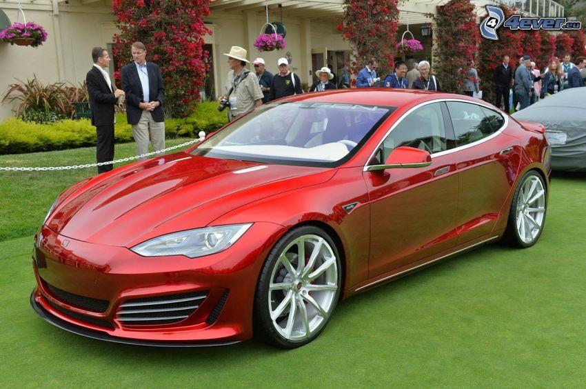 Tesla Model S, electric car, Saleen