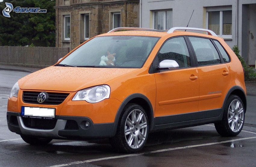Volkswagen Cross Polo, rain