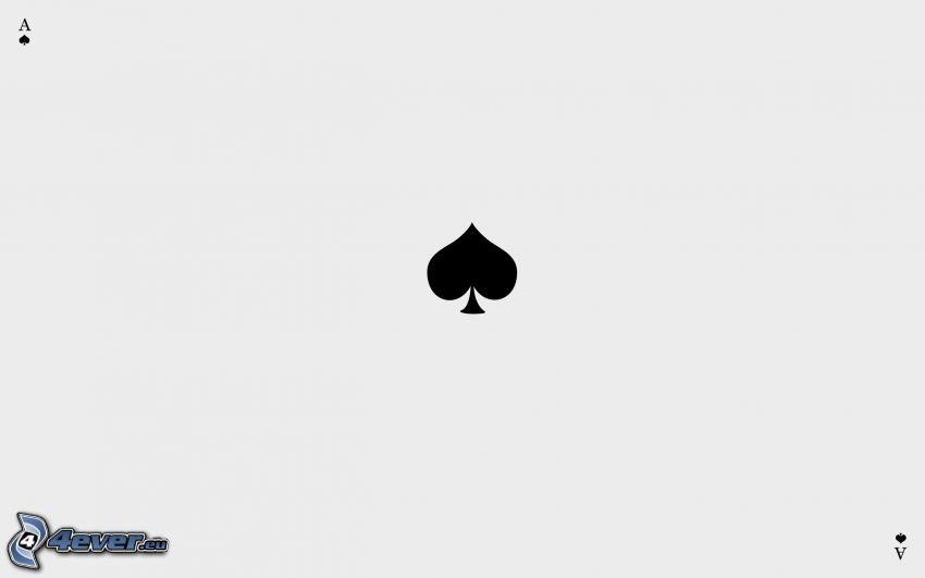 ace, leaf