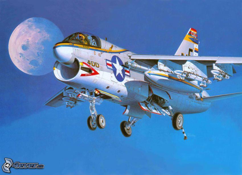 aircraft, Moon