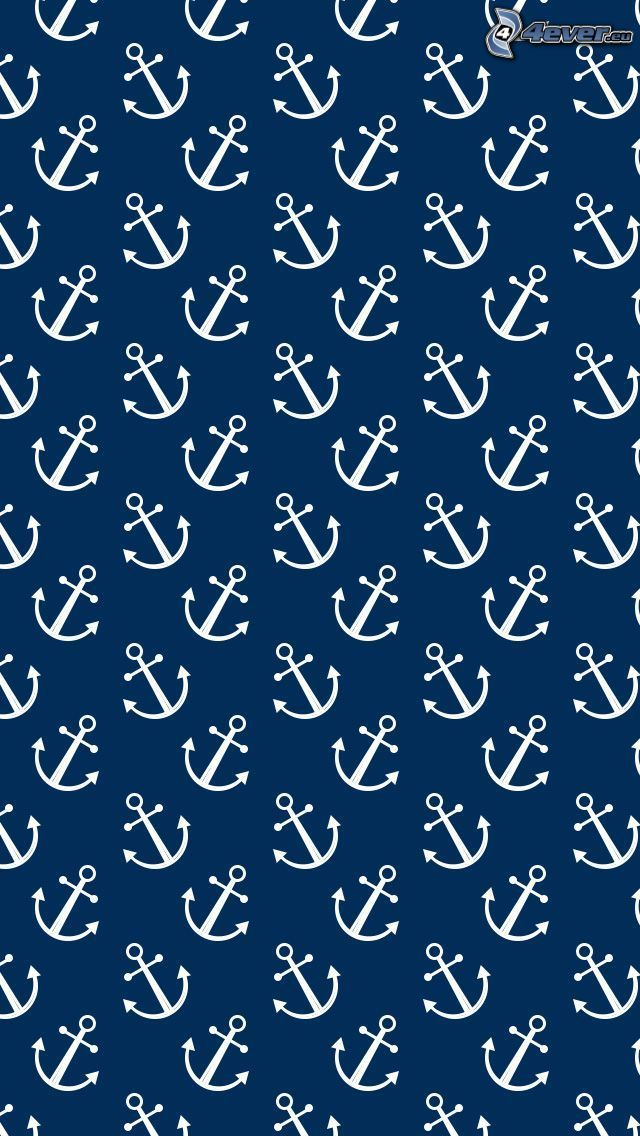 anchors, blue background