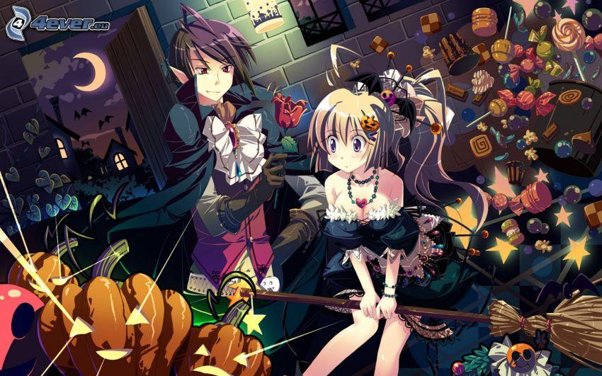 anime girls, elf