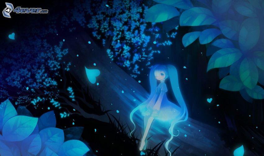 fairy, anime girl