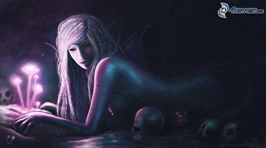 fantasy woman, elf