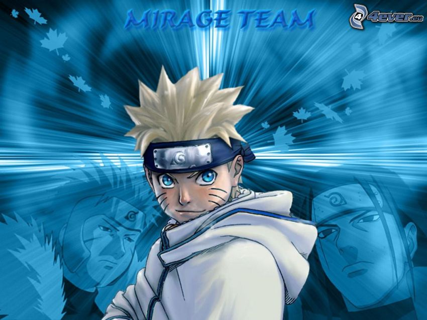 Naruto, Mirage, cartoon