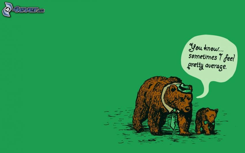 bears, cub, text, tie, hat, bow tie