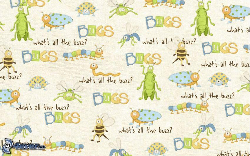 beetles, wallpaper