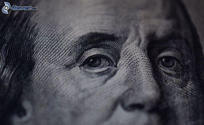 Benjamin Franklin, dollar