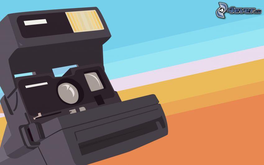camera, stripes