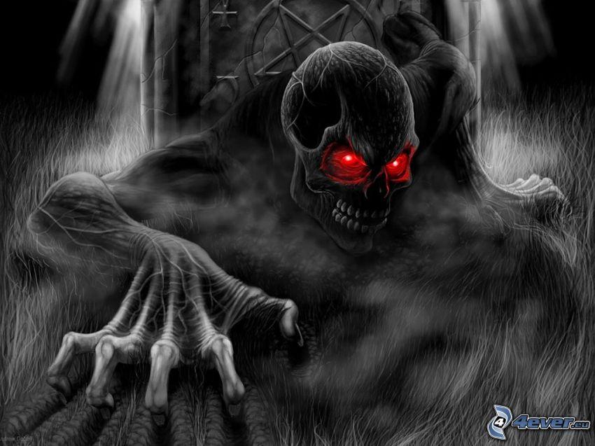 devil, demon, monster