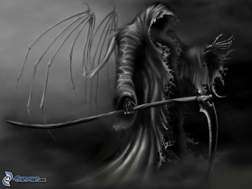 Grim Reaper, scythe