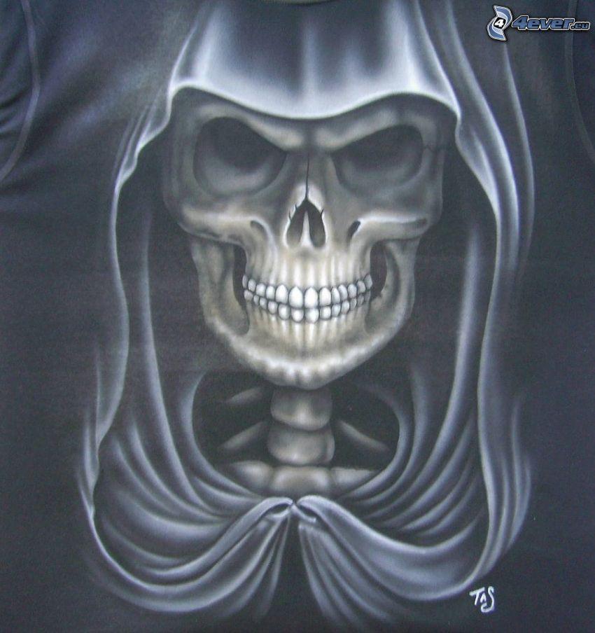 Grim Reaper, skull