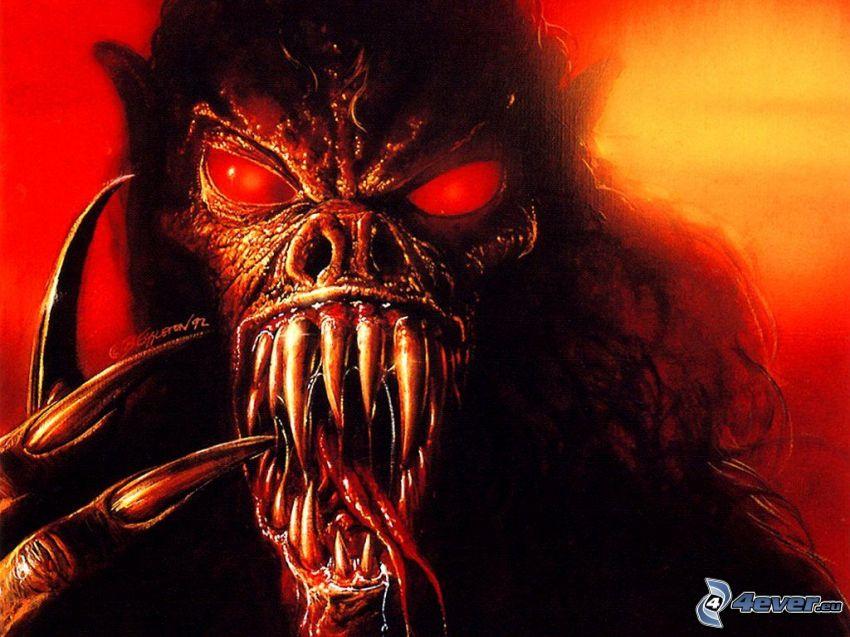 monster, demon