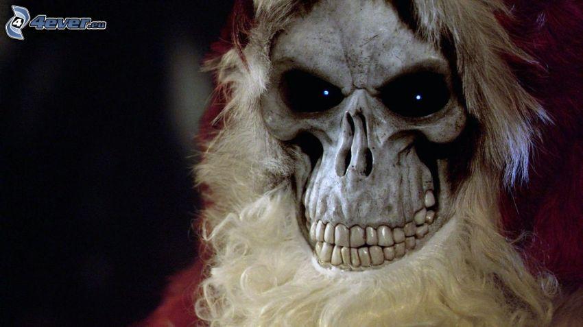 skull, Santa Claus