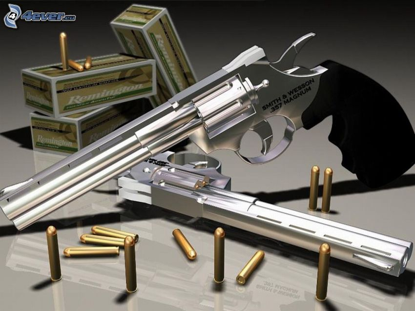 357 magnum, pistol, ammunition