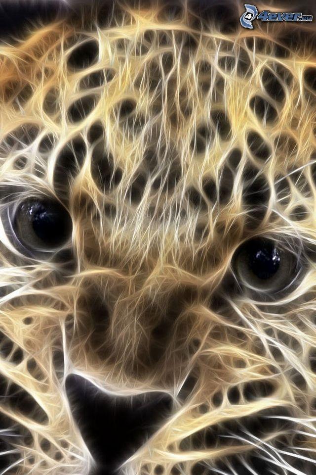 fractal leopard