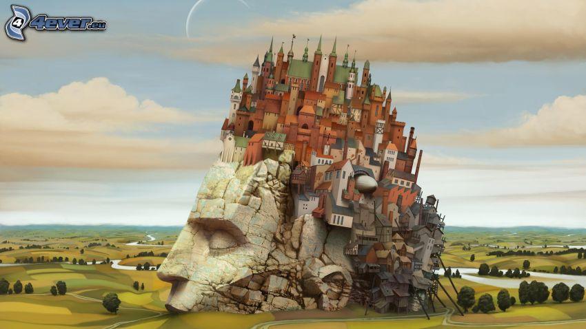 head, castle