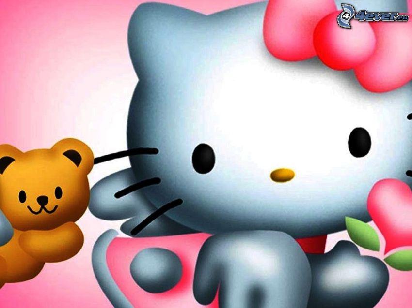 Hello Kitty, cartoon
