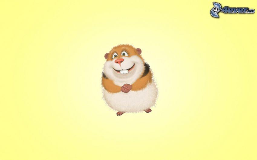 guinea pig, joy