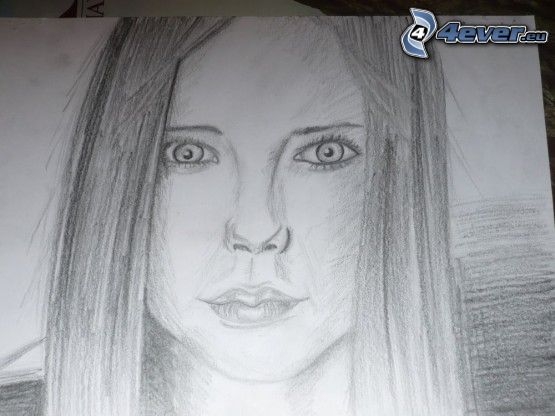 Avril Lavigne, cartoon