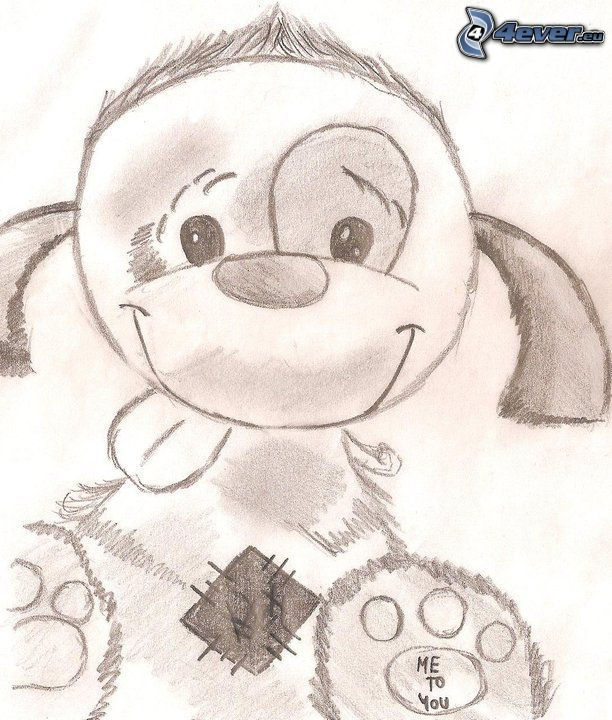 cartoon dog, Me to You