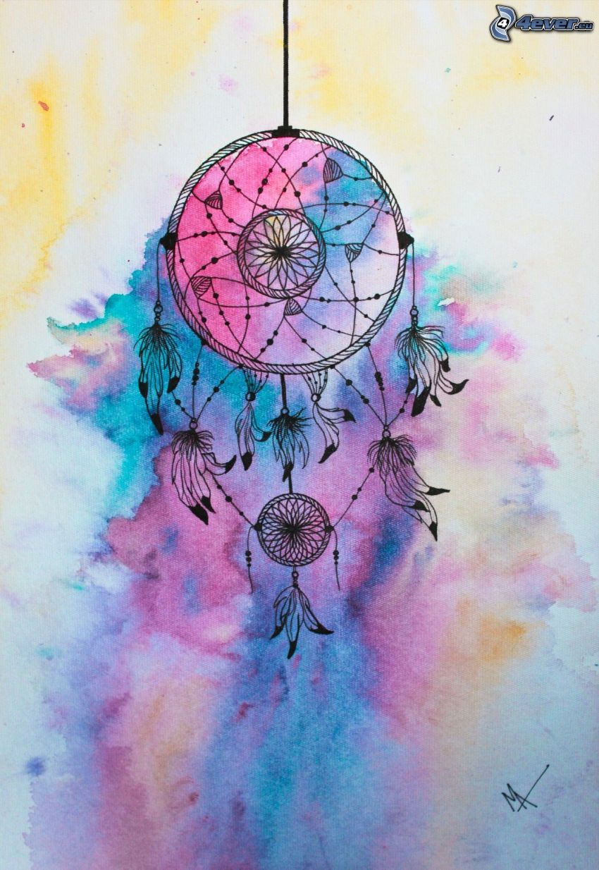 dream catcher, blots