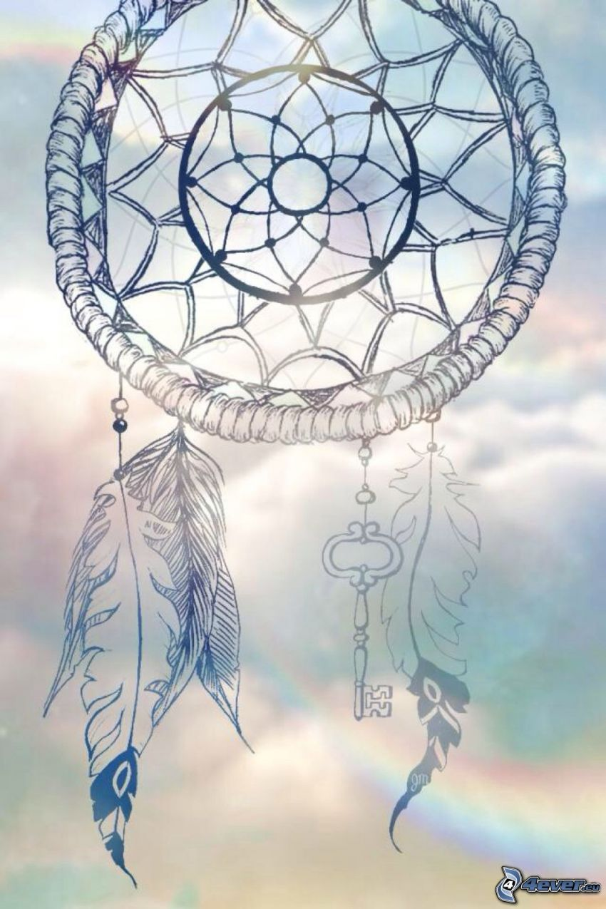 dream catcher, key